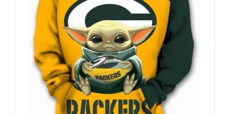 Baby Yoda Supported The Packers On Sunday Night Packernet S View